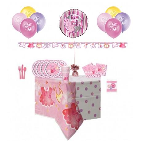 Pack especial ropa de bebe color rosa