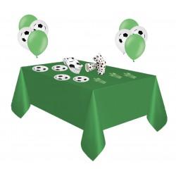 Pack especial futbol verde y blanco