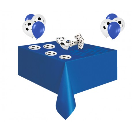Pack especial futbol azul y blanco