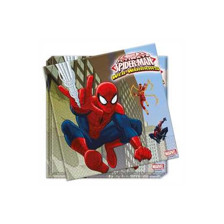 Servilletas Spiderman