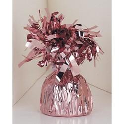 Pesa para globos de helio color rosa