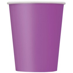 Vasos de color violeta