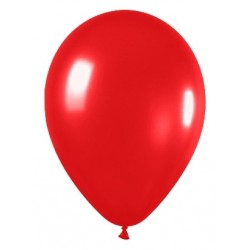 Globos de color rojo x 8