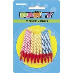 Velas genéricas de cumpleaños
