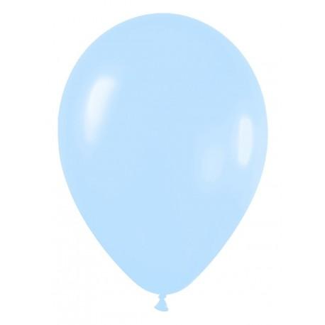 Globos de color azul real