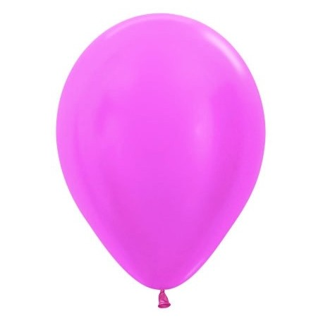 Globos de color lila