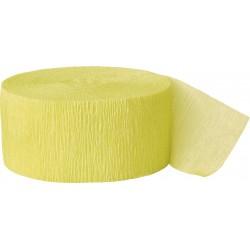 Cinta crepé amarillo claro
