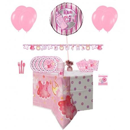 Pack Básico Ropa de Bebe Rosa