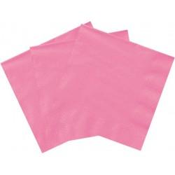 Servilletas de color rosa fuerte