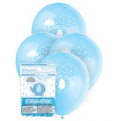 Globos de látex de Elefante con sombrilla azul