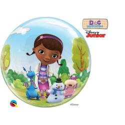 Globo burbuja de la Doctora Juguetes