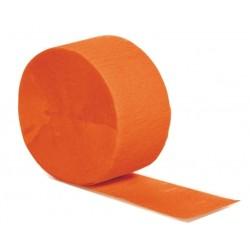 Cinta crepé naranja