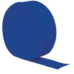 Cinta crepé azul cobalto