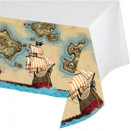Platos de Mapa del pirata