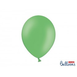 10 Globos de color verde