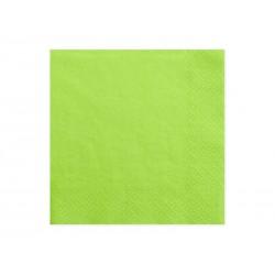 Servilletas de color verde claro