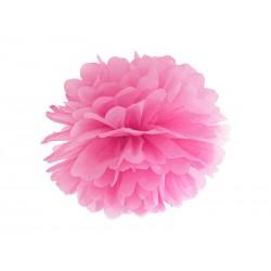 Pompón de color rosa (35 cm)
