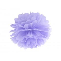 Pompón de color lila (35 cm)