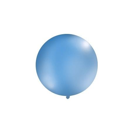 Globo gigante de color azul pastel (1 m)
