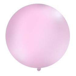 Globo gigante de color blanco (1 m)